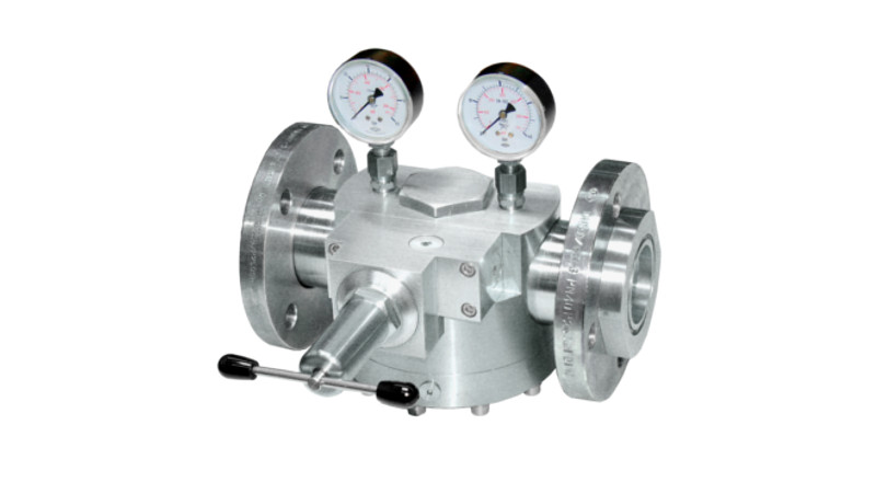 Domeloaded pressure regulator WITT 757LE/S-ES stainless steel