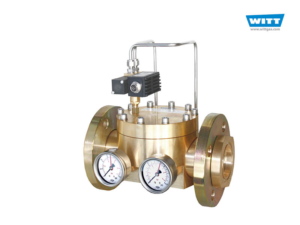 WITT dome-loaded pressure regulator 757LE/S with proportional valve