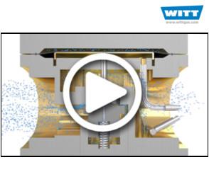 How do dome-loaded pressure regulators work?